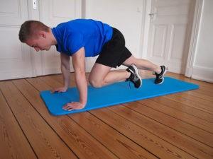 Der Mountain Climber - eine Bodyweight Übung für dein Herz-Kreislauf-System